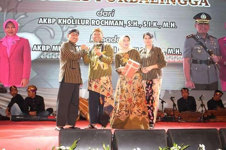 KOMANDAN LANUD J.B. SOEDIRMAN HADIRI ACARA PISAH SAMBUT KAPOLRES PURBALINGGA