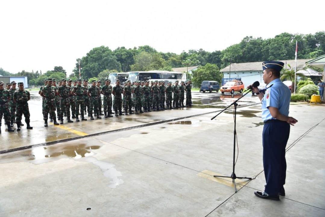 Lanud Halim Perdanakusuma Terima Kunjungan Pasis Pa PK TNI TA. 2020