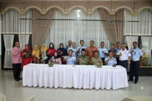 Komandan Lanud (Danlanud) Sutan Sjahrir Silaturahmi Ke Kabupaten Lima Puluh Kota Provinsi Sumatera Barat