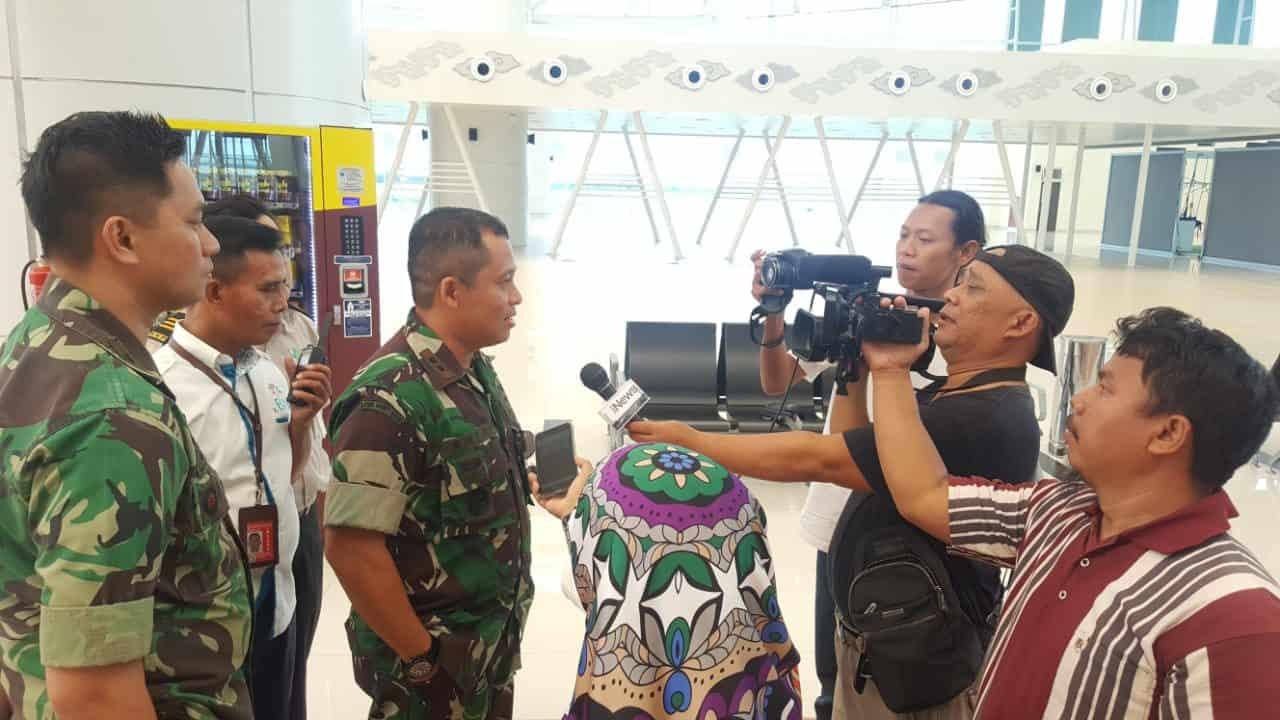 Komandan Lanud Sugiri Sukani Berkunjung ke Bandara Internasional Jawa Barat (BIJB) Kertajati