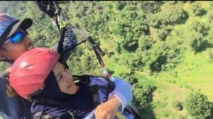 Kunjungan Komadan Lanud Sugiri Sukani ke Lokasi Wisata Paralayang Gunung Panten Kabupaten Majalengka dalam Rangka Meninjau Kesiapan Atlet PON 2020