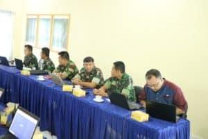 Anggota Lanud Sutan Sjahrir Ikuti Pelatihan Operator SIRUP dan LPSE