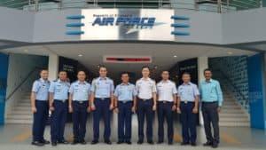 Kadisoplatau Hadiri SOEP TNI AU–RSAF di Singapura