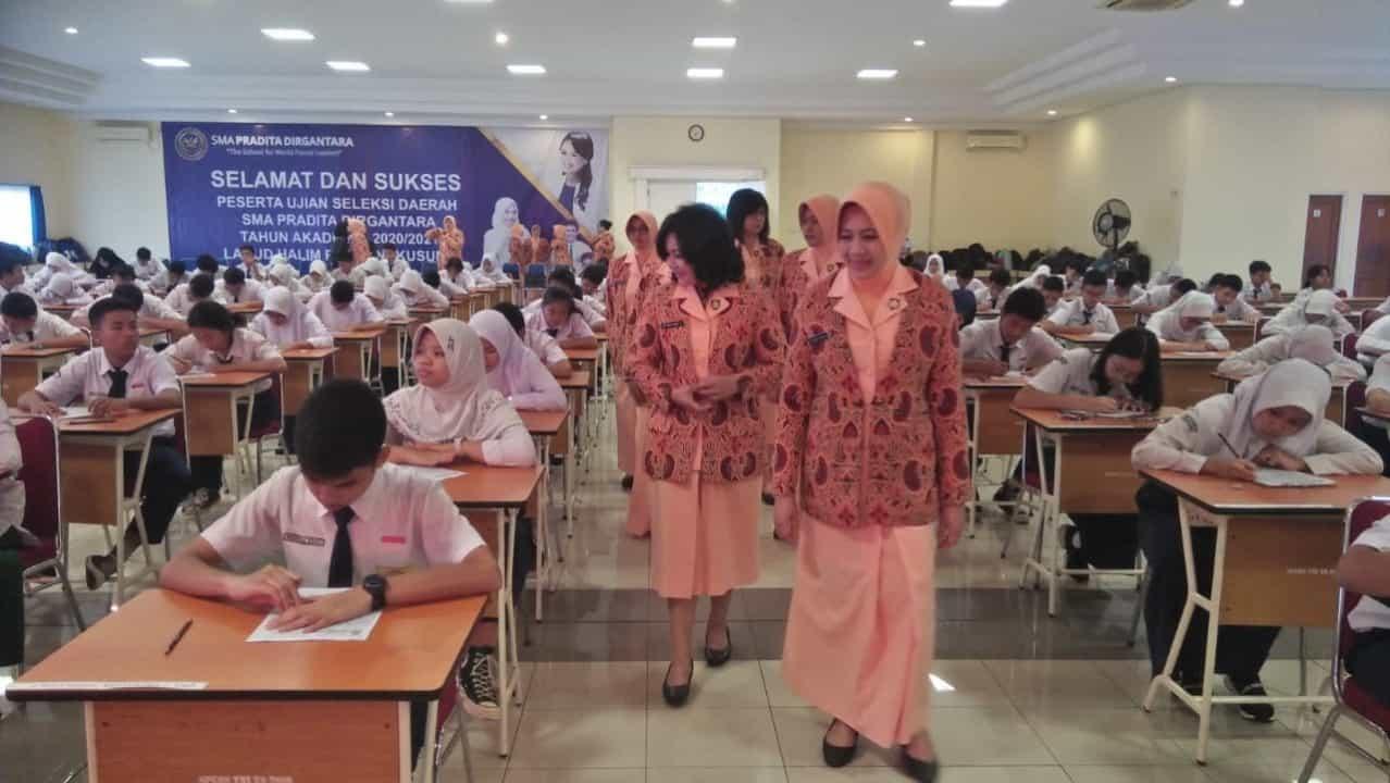 Seleksi Daerah SMA Pradita Dirgantara di Lanud Halim Perdanakusuma