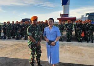 Yonko 465 Paskhas Tuntaskan Tugas Kemanusiaan Di Natuna