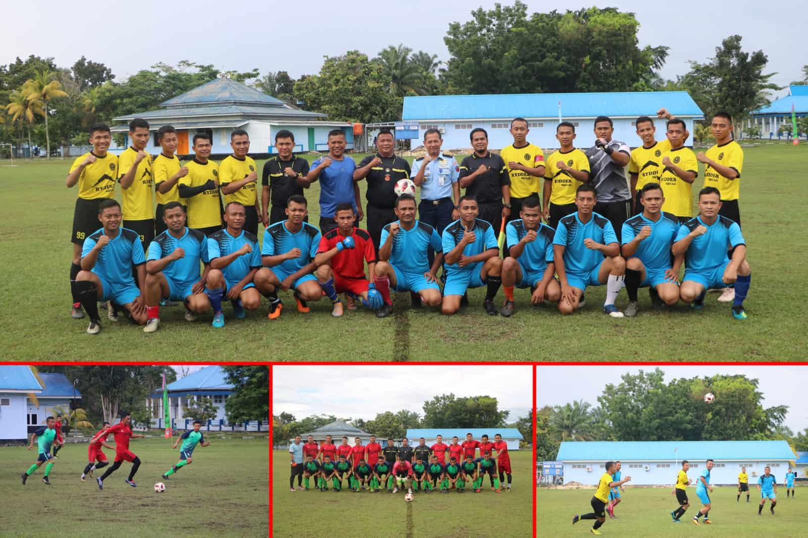 Pertandingan Olahraga Sambut Rangkaian HUT Ke-74 TNI AU di Lanud Rsn