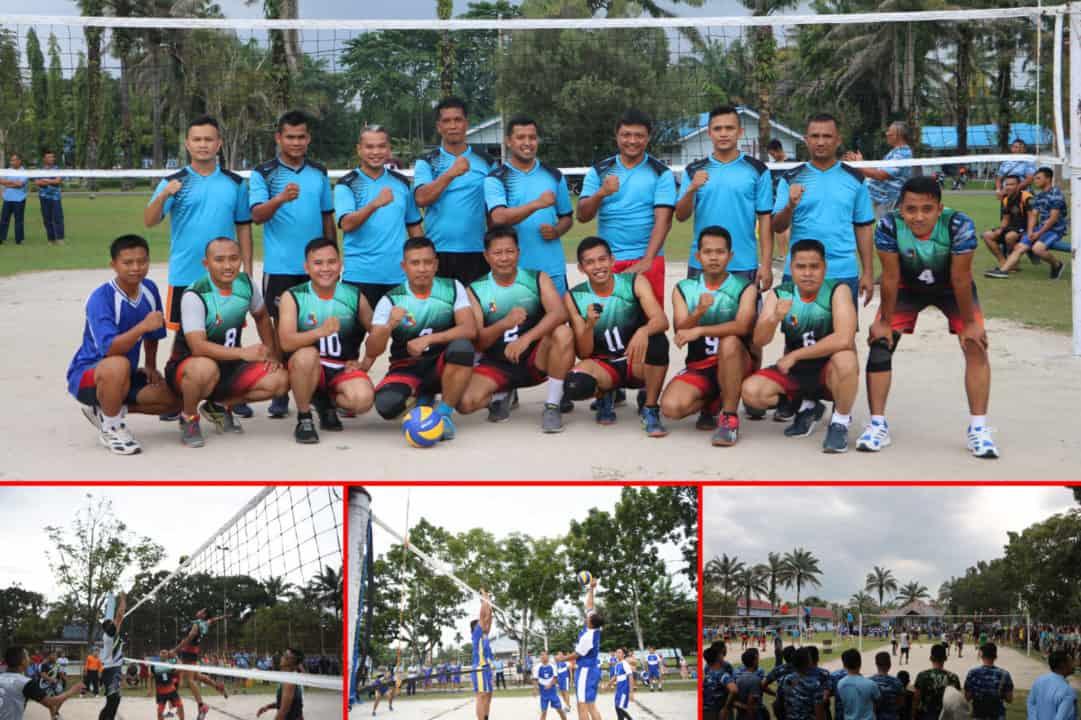 Skadron Udara 12 Juara Pertama Pertandingan Bola Voli