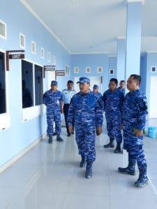 Entri Briefing Wasrik Itjenau di Lanud Yohanis Kapiyau Timika