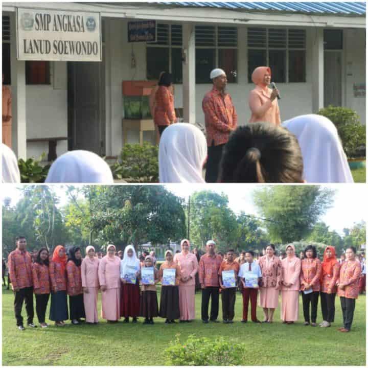 Sekolah SMP Angkasa Lanud Soewondo Laksanakan Try Out Gratis Tingkat SD