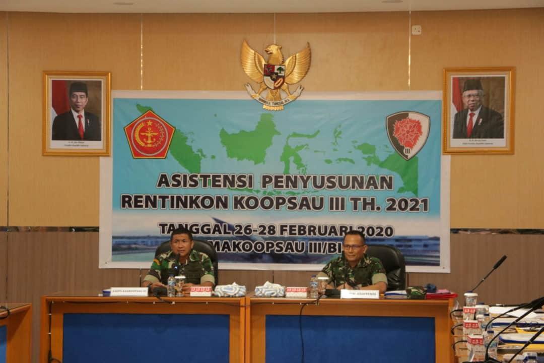Koopsau lll : TNI Tingkatkan kesiapsiagaan Dalam Menghadapi Ancaman Non Militer