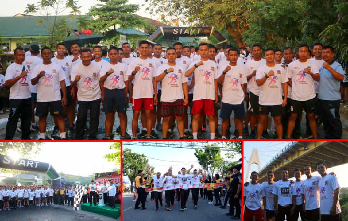 Personel Lanud Rsn Ikuti Fun Run Road To Sumatra Jungle Run