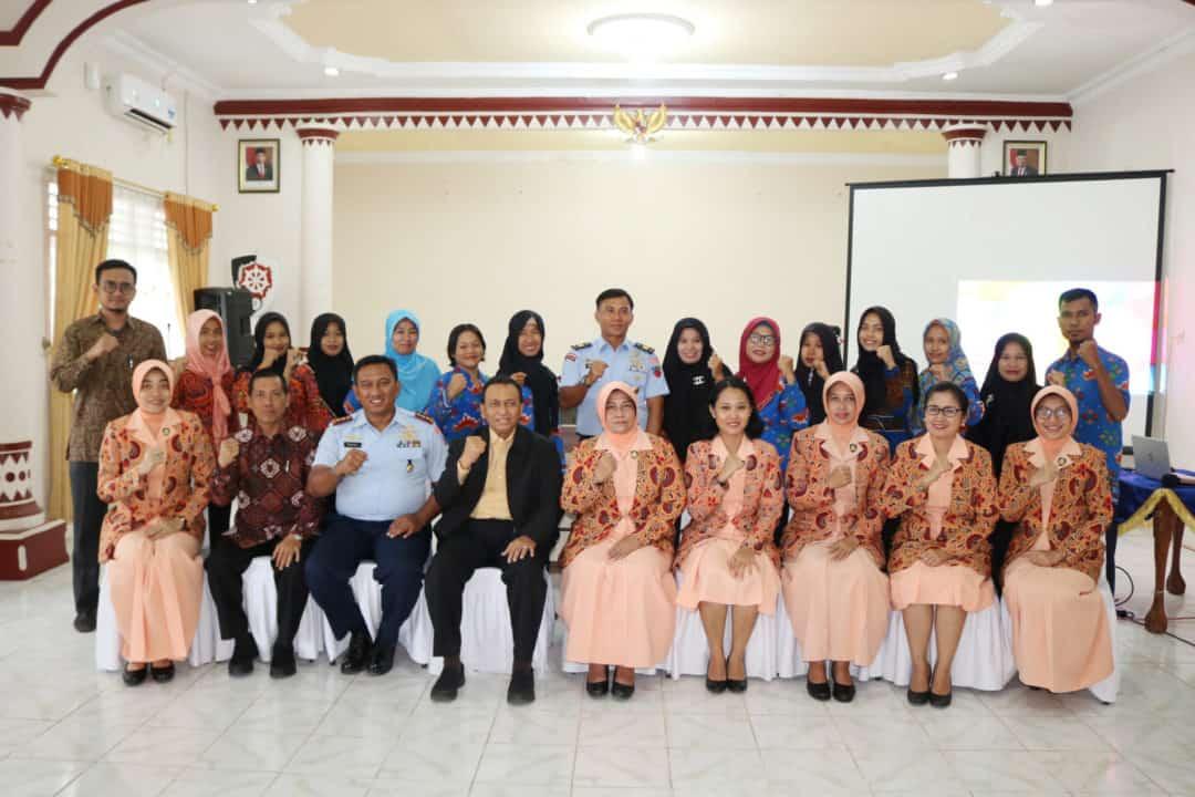 Yasarini Pengurus Pusat dan Lembaga Pendidikan Islam (LPI) Sabilillah Malang mengadakan visitasi ke sekolah (TK dan SMP) Angkasa Lanud Pangeran M. Bun Yamin.