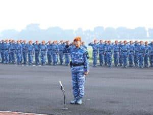 Wadan Korpaskhas Pimpin Upacara Bendera 17-an