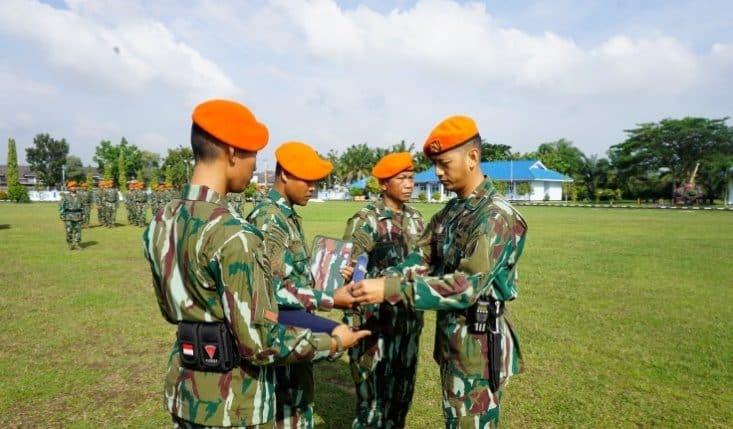 Yonko 462 Paskhas Melepas Anggota Purna Tugas