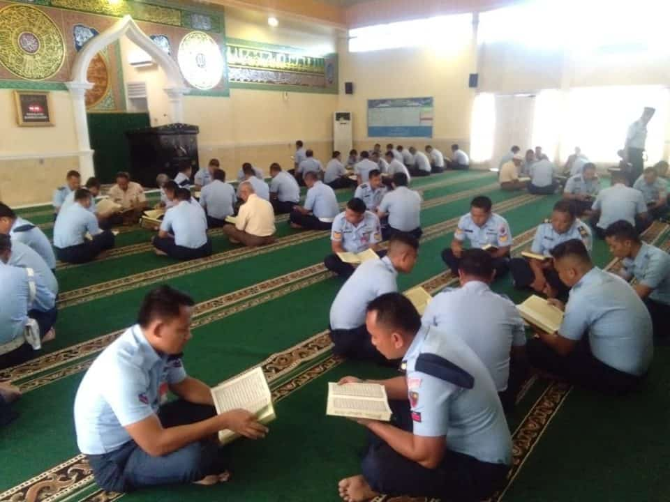 Kadispers Lanud Rsn, Hidup Terarah Prajurit Harus Pedomani Al-Quran