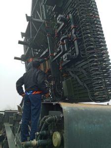 Inovasi Kembali Dilakukan Sathar 52 Radar Satrad 224 Setahun Fakum Kembali Beroperasi.