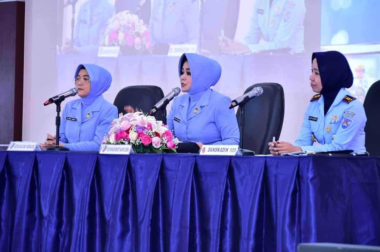 Pembekalan Wara A-44 Ibu Winayadhati Kanya Sena:Wara Adalah Perempuan Perkasa