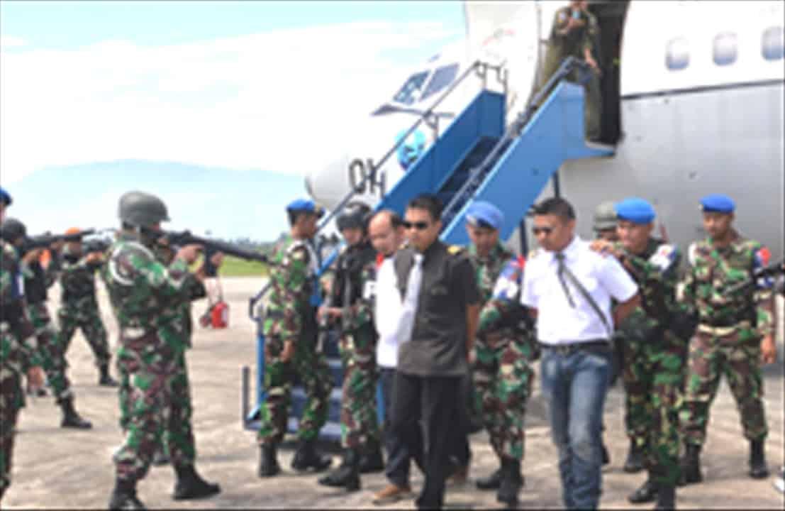 Kosekhanudnas III Medan Melakukan Pendaratan Paksa Pesawat Asing Tak di Kenal