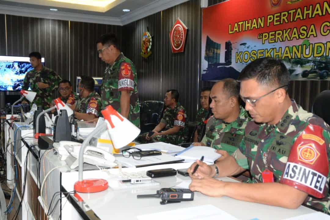 """Pembukaan Latihan Hanud """"Perkasa C-20"""" TA. 2020 Di Kosekhanudnas III"""