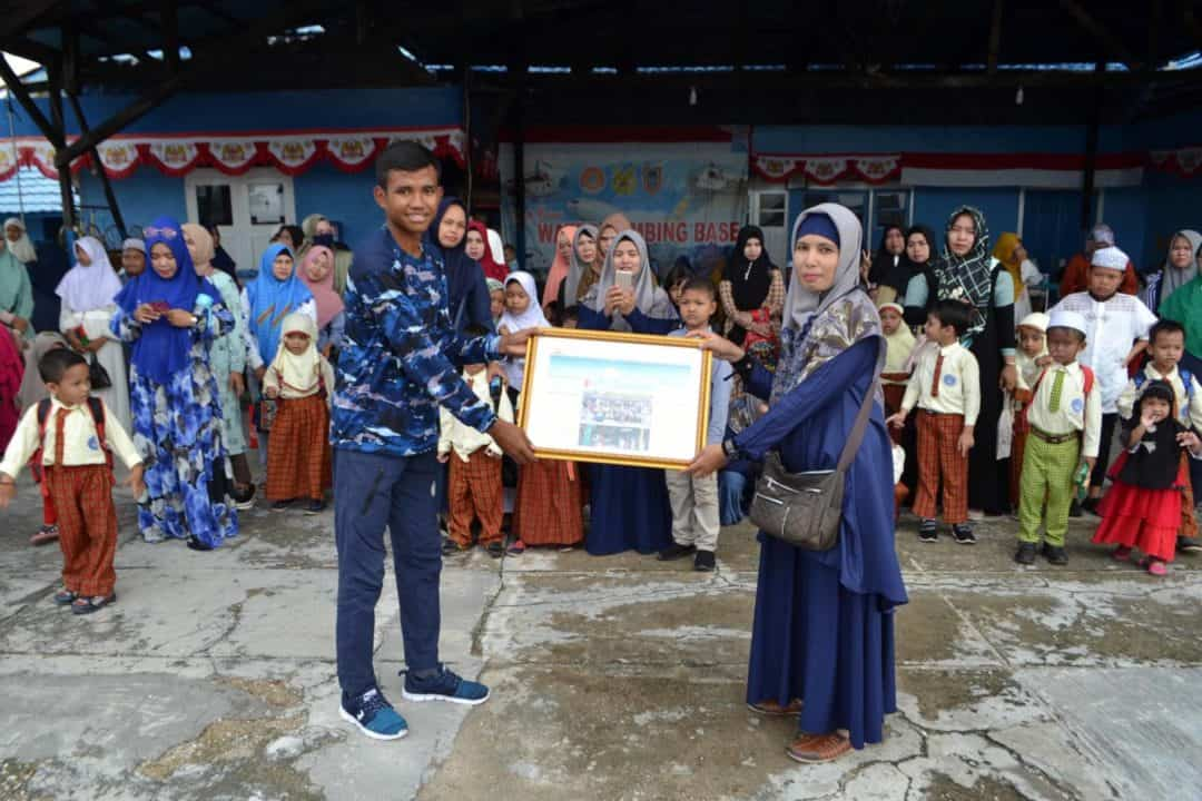 Lanud Sjamsudin Noor Menanamkan Kecintaan Dirgantara Kepada Tunas Bangsa di Kalsel