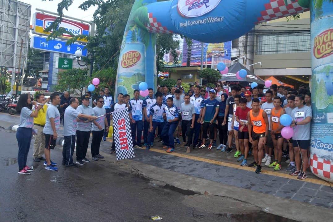 Lanud Sjamsudin Noor Ikuti Couple Run 5K Dalam Rangka HUT ke-2 Best Western Kindai Hotel Banjarmasin