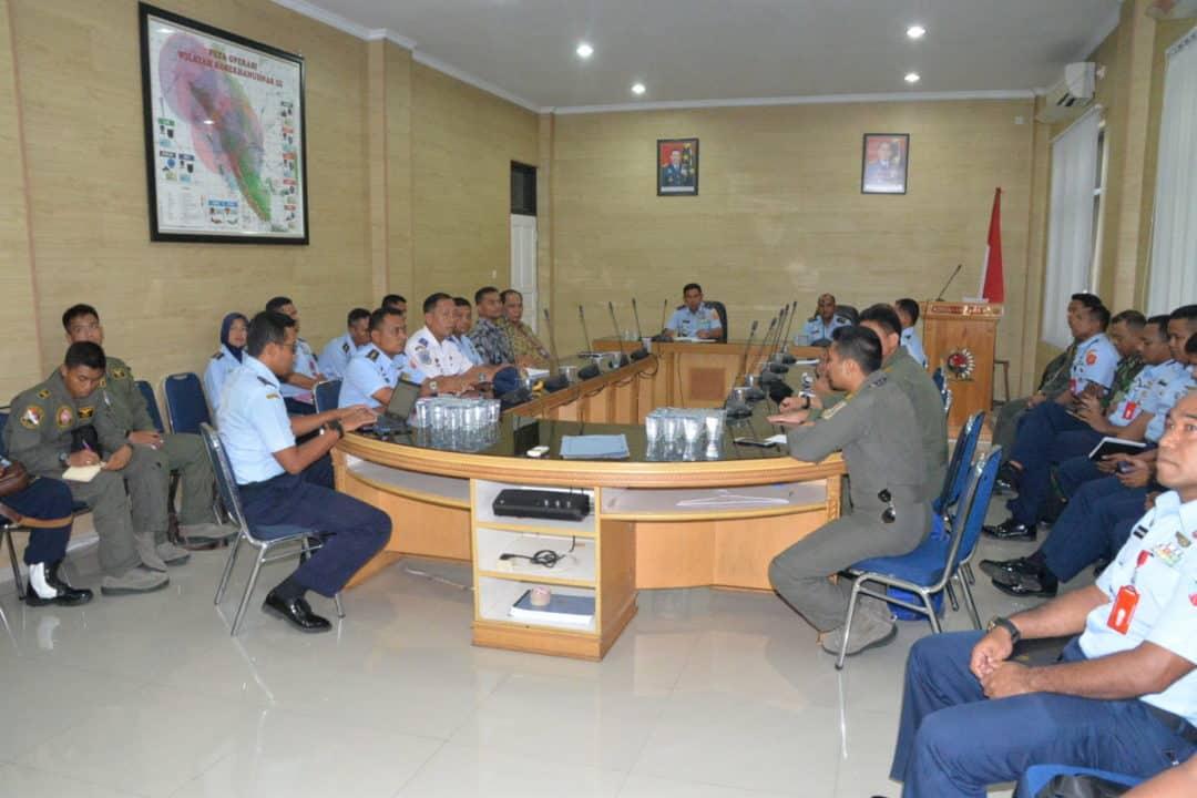 Panglima Kosekhanudnas III Membuka Penataran Pelaku Lat Kilat C-20 dan Cakra C-20 TA 2020