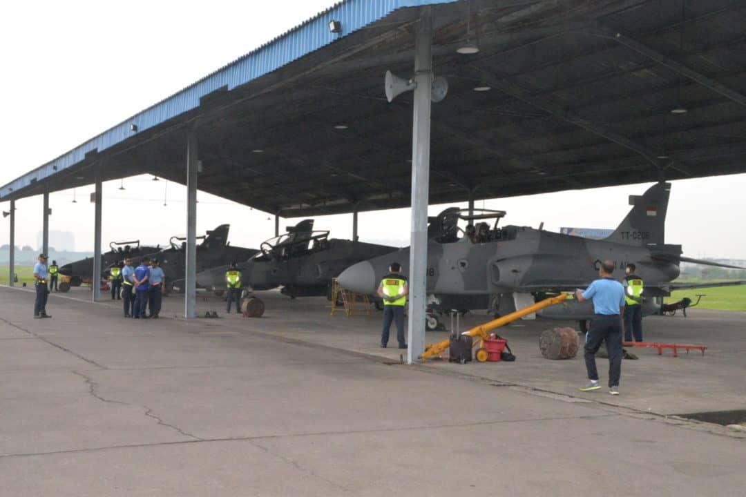 BRIEFING PENERBANGAN PELAKSANAAN LAT KILAT C-20 TAHUN 2020