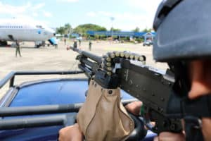 Pesawat Asing Diturunkan Secara Paksa di Lanud Sultan Iskandar Muda