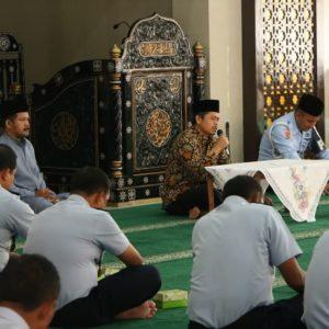 Kajian Agama dan sholat dhuha berjamaah digelar di Masjid Abdurrachim Lanud Adisutjipto