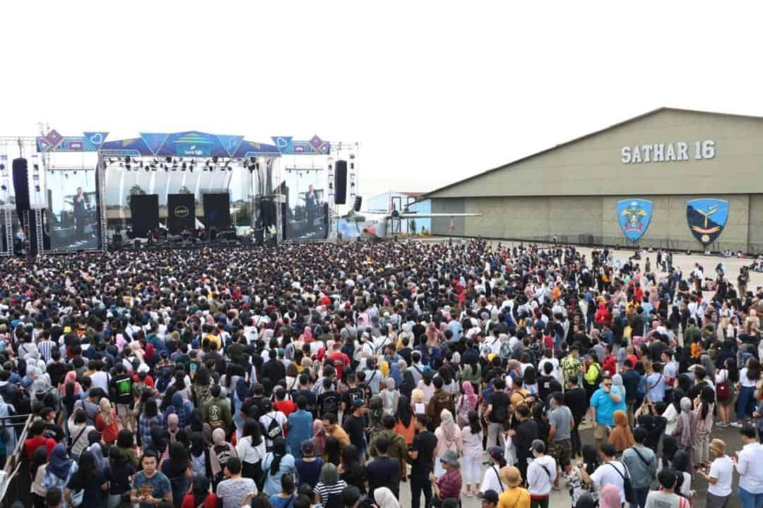 "Konser Playlist Love Festival 2020 ""Lanud Husein Bertabur Bintang"""