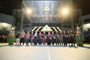 Komandan Lanud Dhomber Hadiri Pembukaan BPNGo 123 Fest 2020 Balikpapan