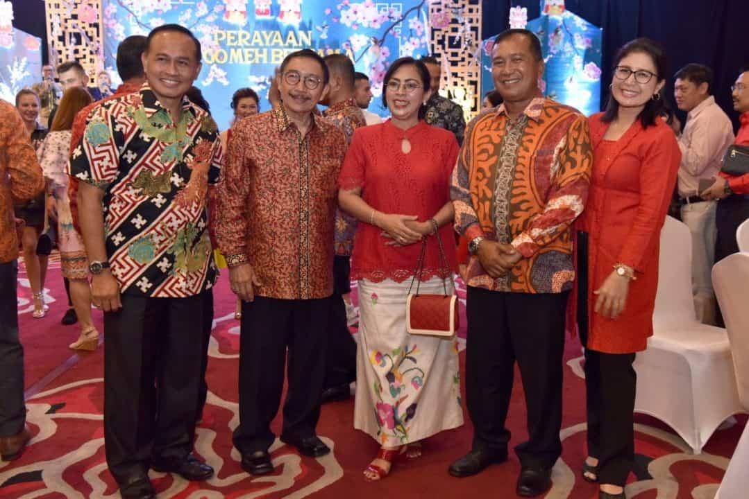 Danlanud Hadiri Perayaan Cap Go Meh di Yogyakarta