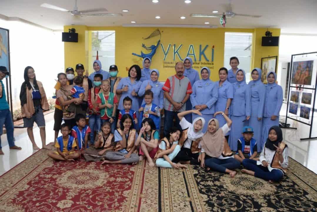 PIA Ardhya Garini Daerah I Koopsau I Semangati Anak Penderita Kanker
