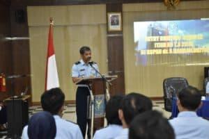 Danlanud Ikuti Taklimat Awal Wasrik di Ruspau Yogyakarta