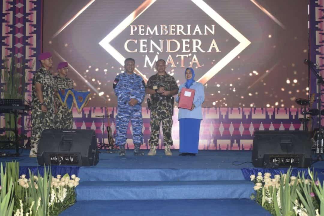 Danlanud BNY hadiri sertijab Danbrigif 4 Marinir Lampung