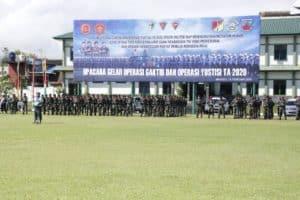 Upacara Operasi Gaktib Dan Yustisi Polisi Militer Tahun 2020