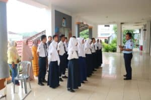 Lanud Pangeran M. Bun Yamin menyelenggarakan tes PPDB untuk 17 Casis SMA Pradita Dirgantara
