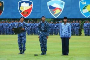 Upacara Bendera 17 an digelar di Lanud Adisutjipto