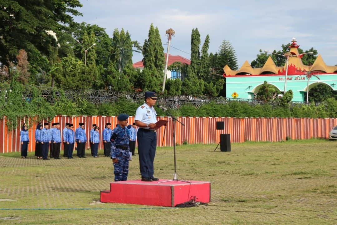 """Upacara 17an di Provinsi Lampung """"Menuju Rakyat Lampung Berjaya"""""""