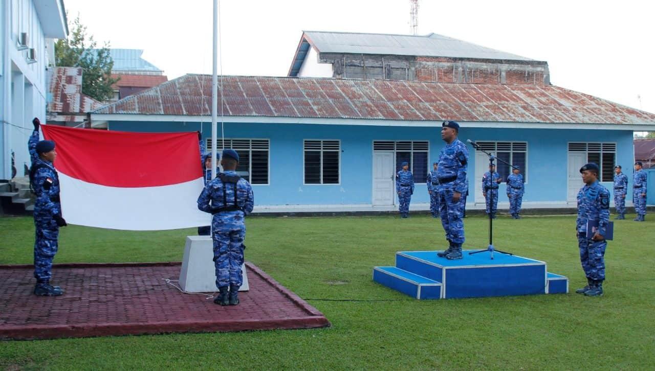 Upacra 17an di Lanud Sam Ratulangi