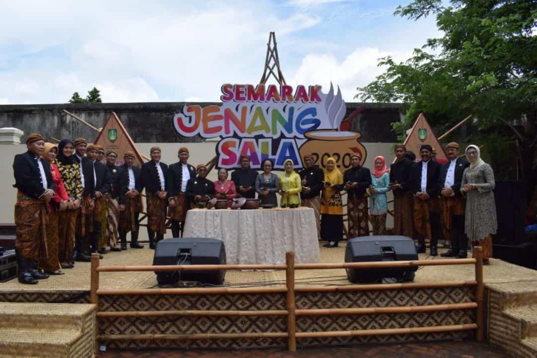 Danlanud Smo hadiri Peringatan Hari Jadi Kutha Sala ke