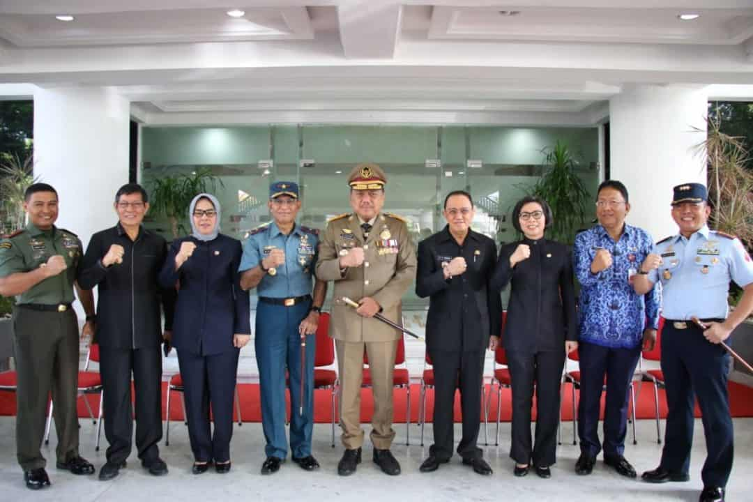 Komandan Lanud Sam Ratulangi Menghadiri Upacara Keselamatan dan Kesehatan Kerja Nasional