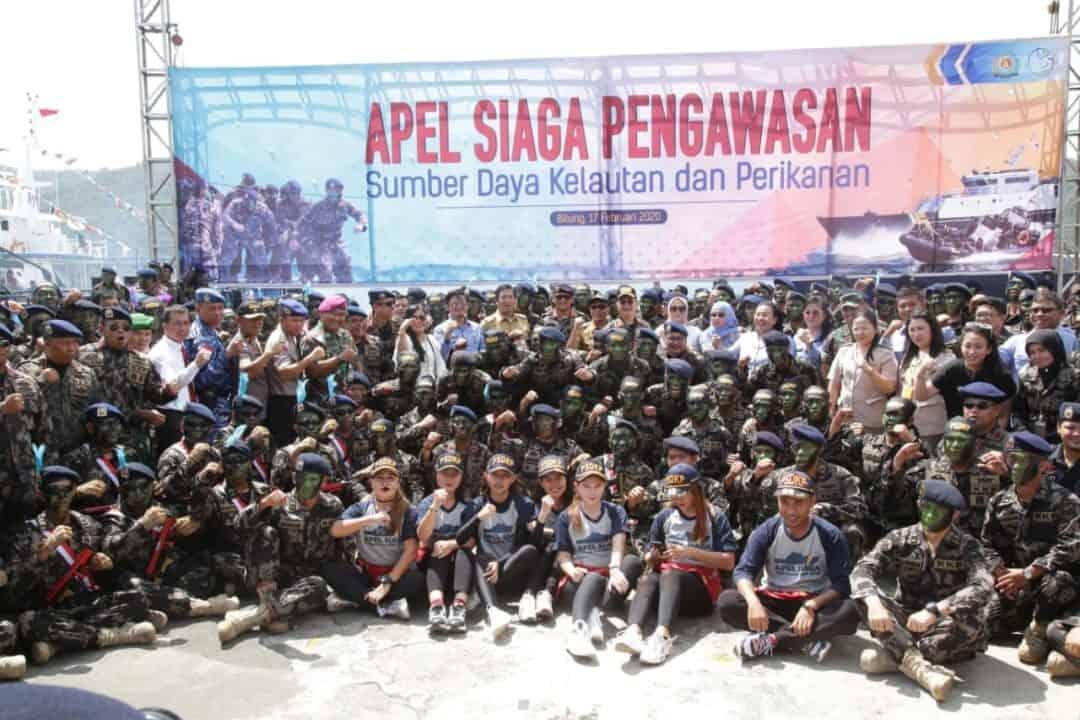 Lanud Sam Ratulangi Ikut Apel Siaga Pengawasan Perikanan Wilayah Timur Indonesia