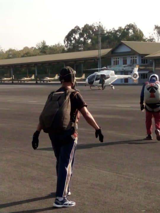 Hadapi Kasau Cup, Atlet Terjun Payung DIY Latihan Intensif di Lanud Adisutjipto