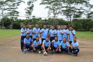 Lanud BNY menggelar Pertandingan Olahraga Antar Satuan Kerja (Satker) dalam rangka memperingati HUT ke-74 TNI AU