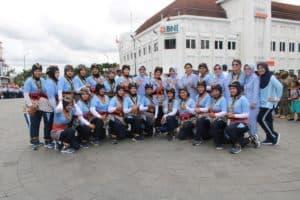Danlanud Adisutjipto beserta Ibu Imel Bob Henry Panggabean saksikan kemeriahan Passing In Koptar AAU di Yogyakarta