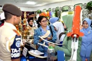 Sekolah Angkasa Yasarini Adisutjipto Ukir Prestasi pada acara Kuis pelajar HUT 56 Dharma Pertiwi