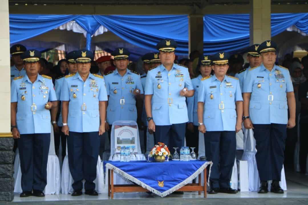 Danlanud Adisutjipto Hadiri Upacara Pelantikan Bintara TNI AU