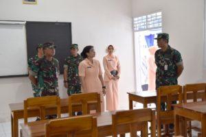Menuju Sekolah Unggulan, Ruang kelas dan Musholla SMP Angkasa diresmikan