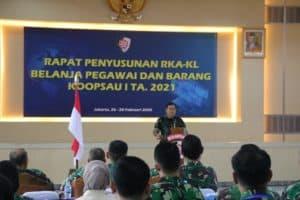 Tingkatkan Kemampuan Administrasi, Peserta Penyusunan RKA-KL Koopsau I TA 202I Dibekali KPPN
